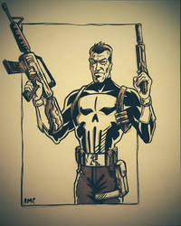 Punisher Commission by alexmclark