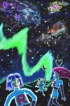Aurora Blast-Off by HarmonyRocketEeveon
