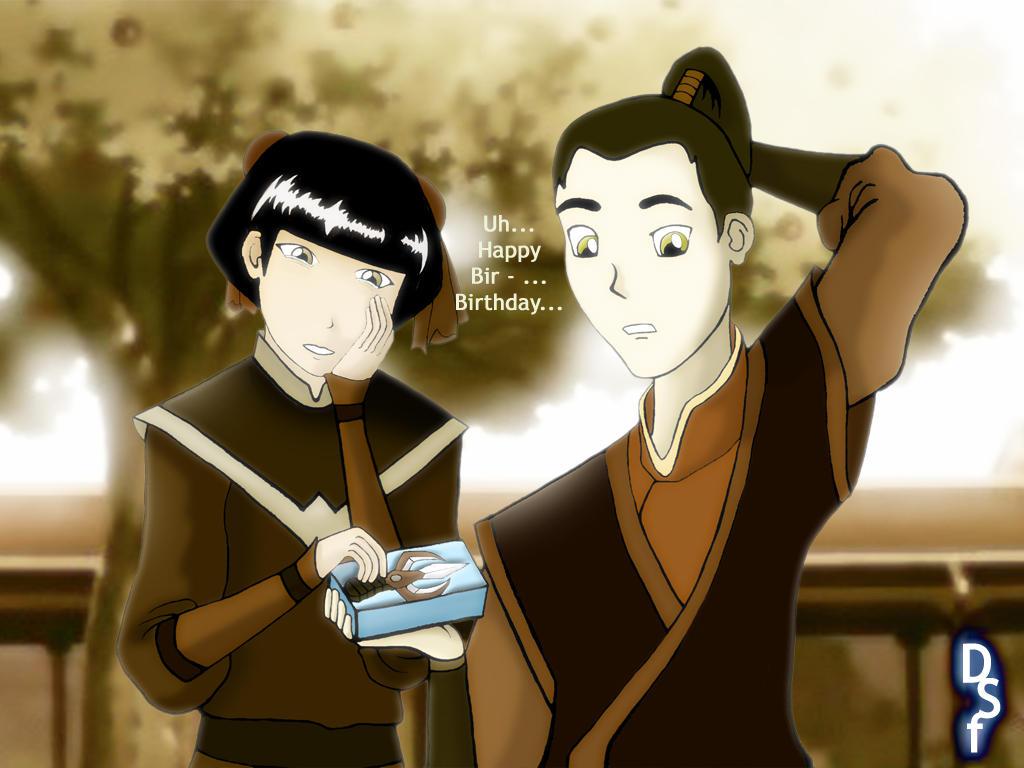 Mai and Zuko -Peaceful Times- by doini on DeviantArt