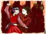 Mai and Zuko Dancing