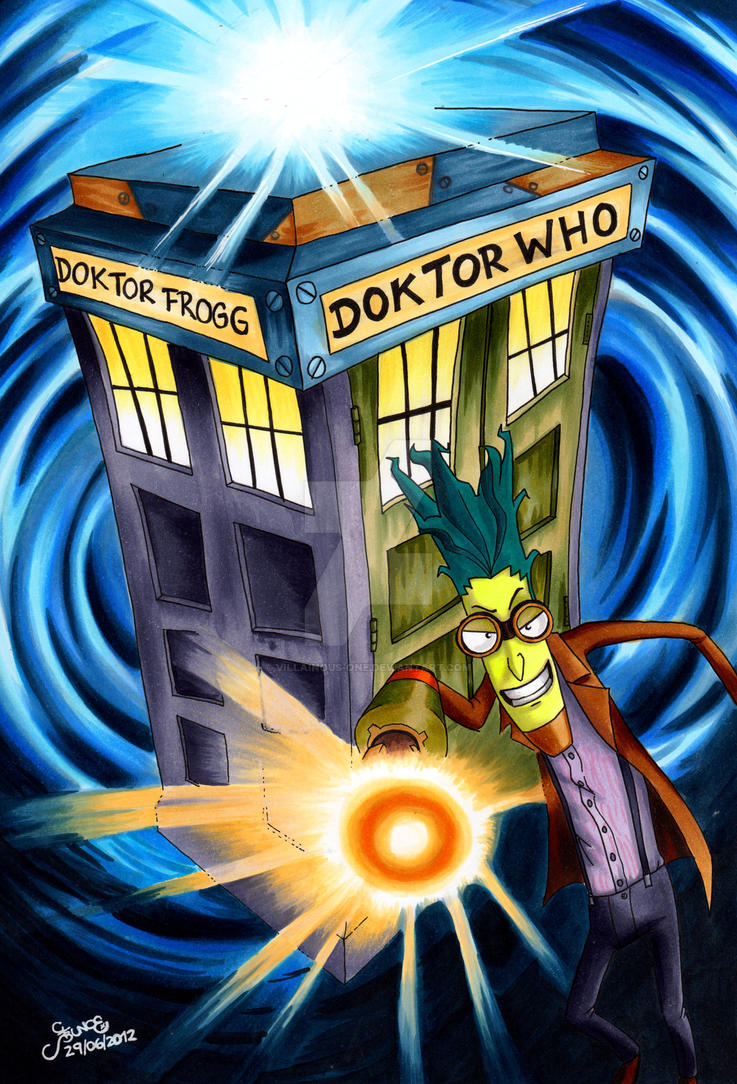 Doktor Who by Doks-Assistant