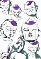 Frieza expressions by TomisJB