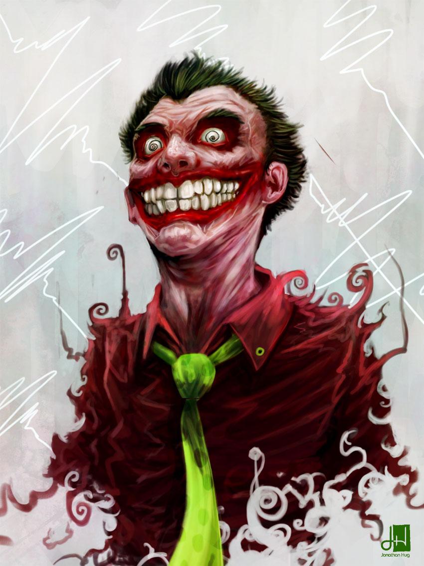 Joker smile's by rangverse