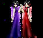 Phobos Demios princess dress by Konzensama-Sanzosama