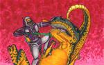 Dinosaur VS Robot