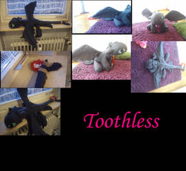 Toothless plushie