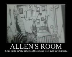 Allen's Room by wreathdeathscyte