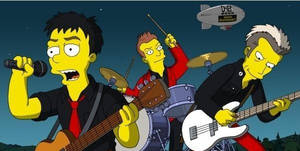 Green Day Simpsons by jaa95