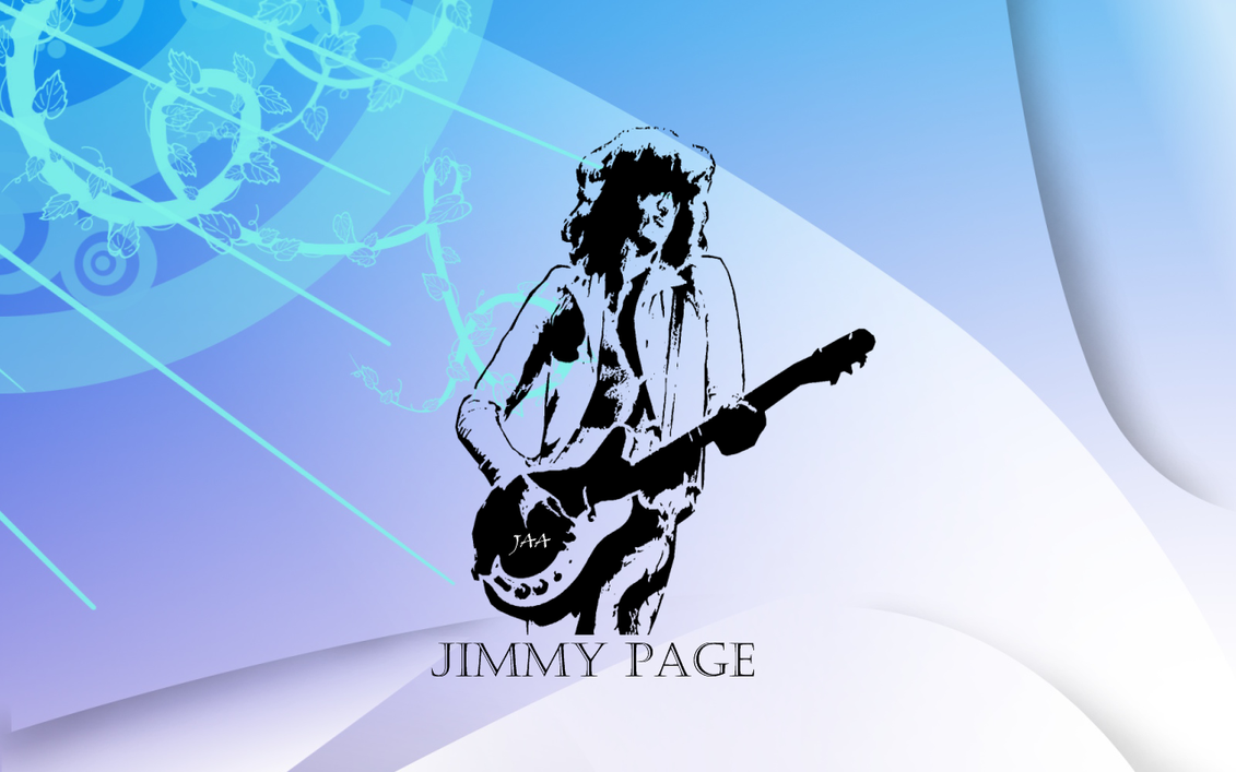 Jimmy Page Wallpaper By Jaa95