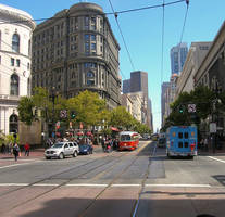Market Street, San Francisco by mit19237