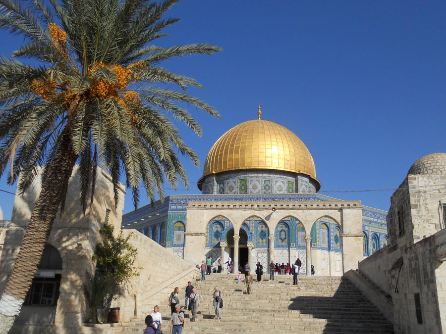 Another View of the Dome of the Rock by mit19237