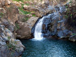 Upper Sa'ar Falls by mit19237