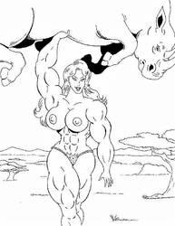 Super Jungle Queen by mit19237