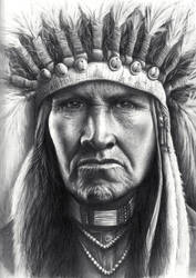 Proud Native American Chief
