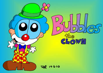 Bubbles the Clown by JimmyCartoonist
