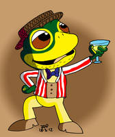 Mr Toad by JimmyCartoonist