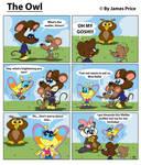 The Owl by JimmyCartoonist