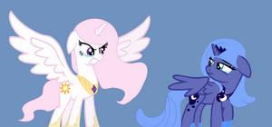 Celestia and Luna AU