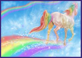 Rainbow Run by MzJekyl