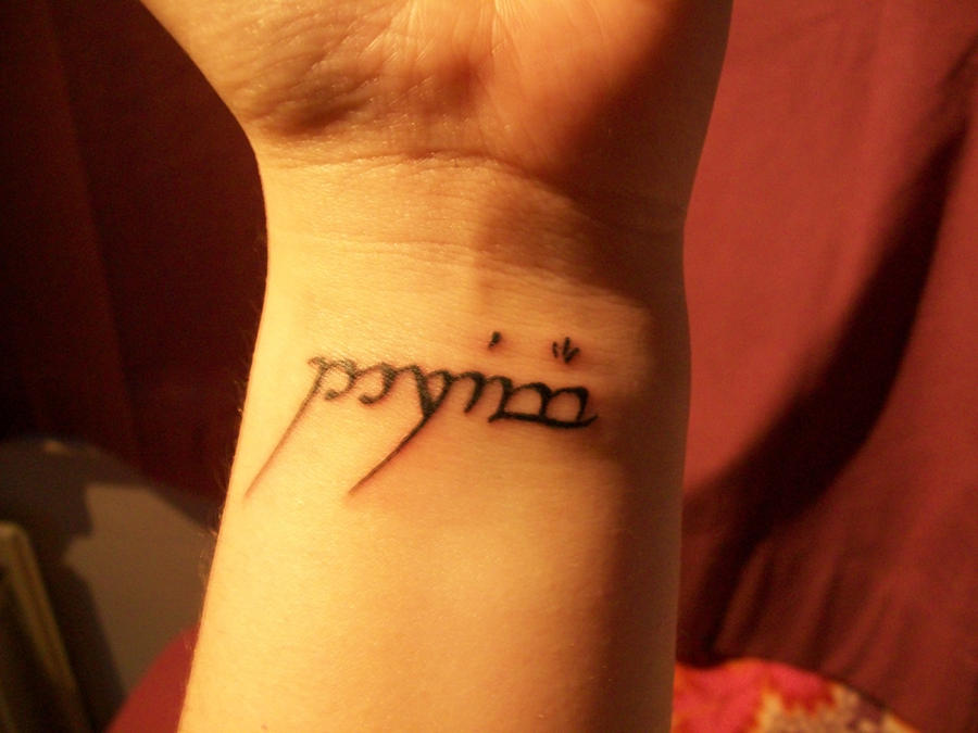 Elvish Tattoos