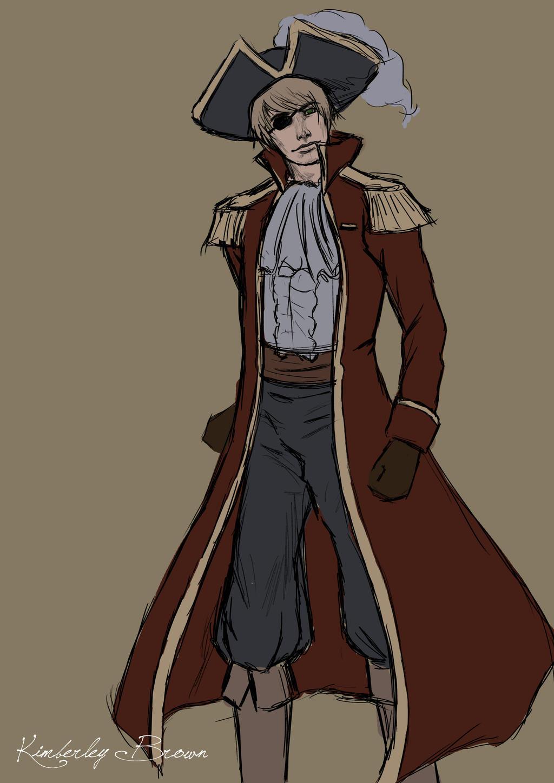 Pirate England w.i.p by MzJekyl