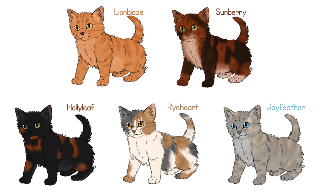 Warrior Cats Group Mating
