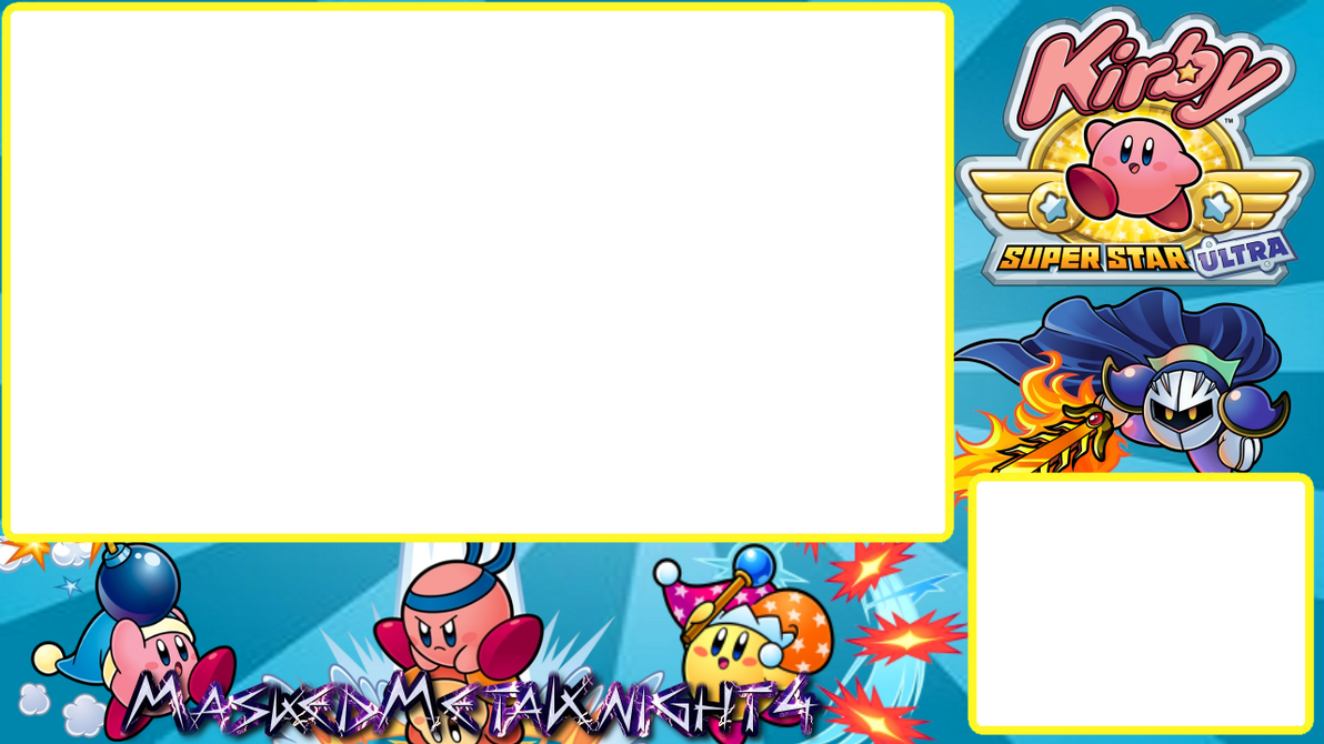 Kirby Super Star Ultra DS Video Layout By MaskedMetaKnight4