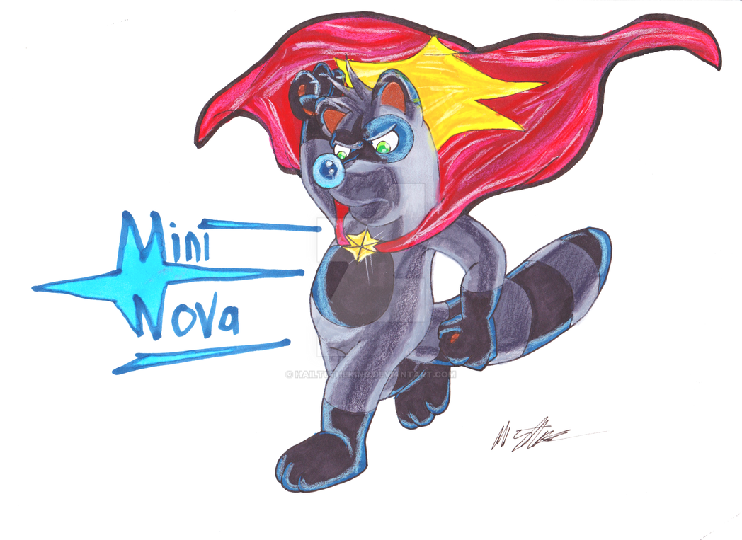 The Original MiniNova by Blackn-Yellow