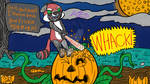 Inktober Day 6 and 16 Smashing Pumpkins by Hailt0TheKing