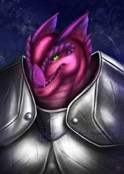 Commission - Starfinder Vesk character