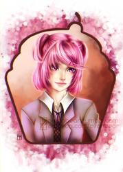 Natsuki Ver 1 - Doki Doki Literature club
