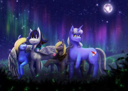 Commission - A Night Walk