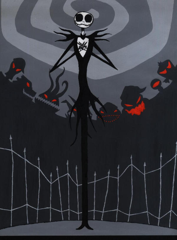 Jack Skellington PAINT by LGhost