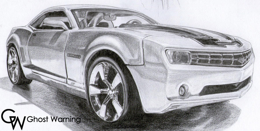 Camaro Bumblebee DRAW. by LGhost on DeviantArt