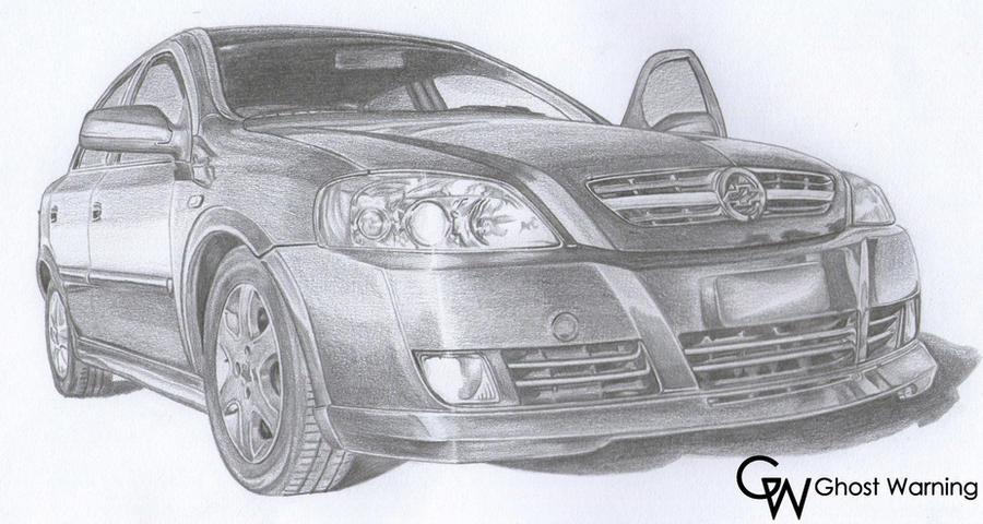 Chevrolet Astra - DRAW by LGhost