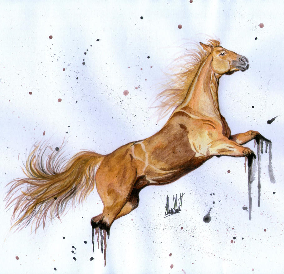 Horse Paint. by LGhost