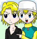Yamato and Takeru: It's there