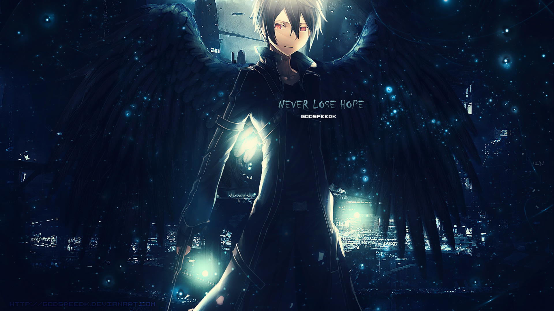 Kirto - Never Lose Hope (SAO Wallpaper