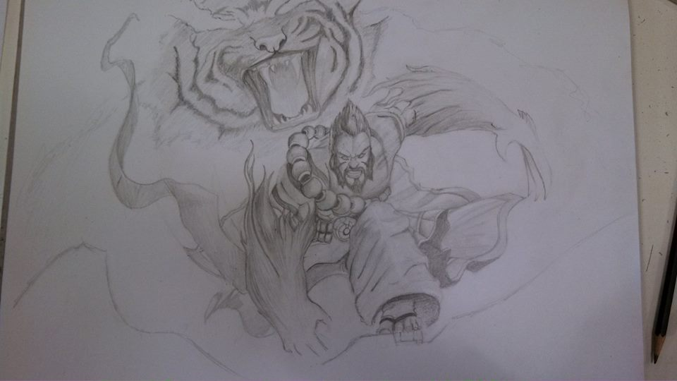 Spirit Guard Udyr by SirChesington on DeviantArt