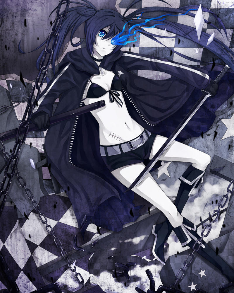 BLACK ROCK SHOOTER by allenkung1