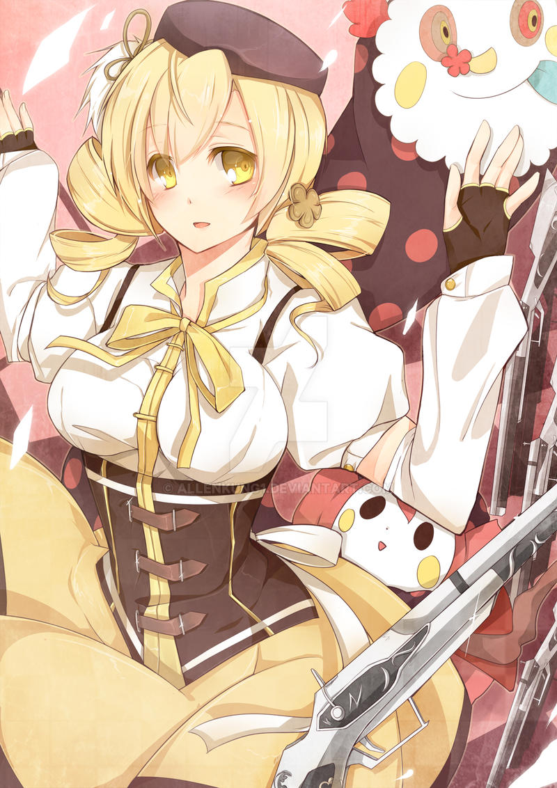 Mami Tomoe by allenkung1