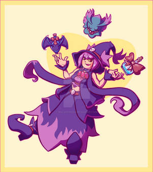 Drawtober2020 - Wicked Apothecary with Mismagius
