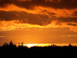 Amber Sunset by Kittihawk11