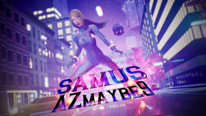 Giantess Samus Video released! by azmaybe9
