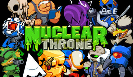 Nuclear Throne - Characters Skins - Photoshop by Yuzandry