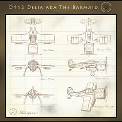 D122 Delia. by WilhelmE