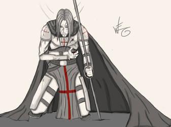 Fallen Crusader by WilhelmE