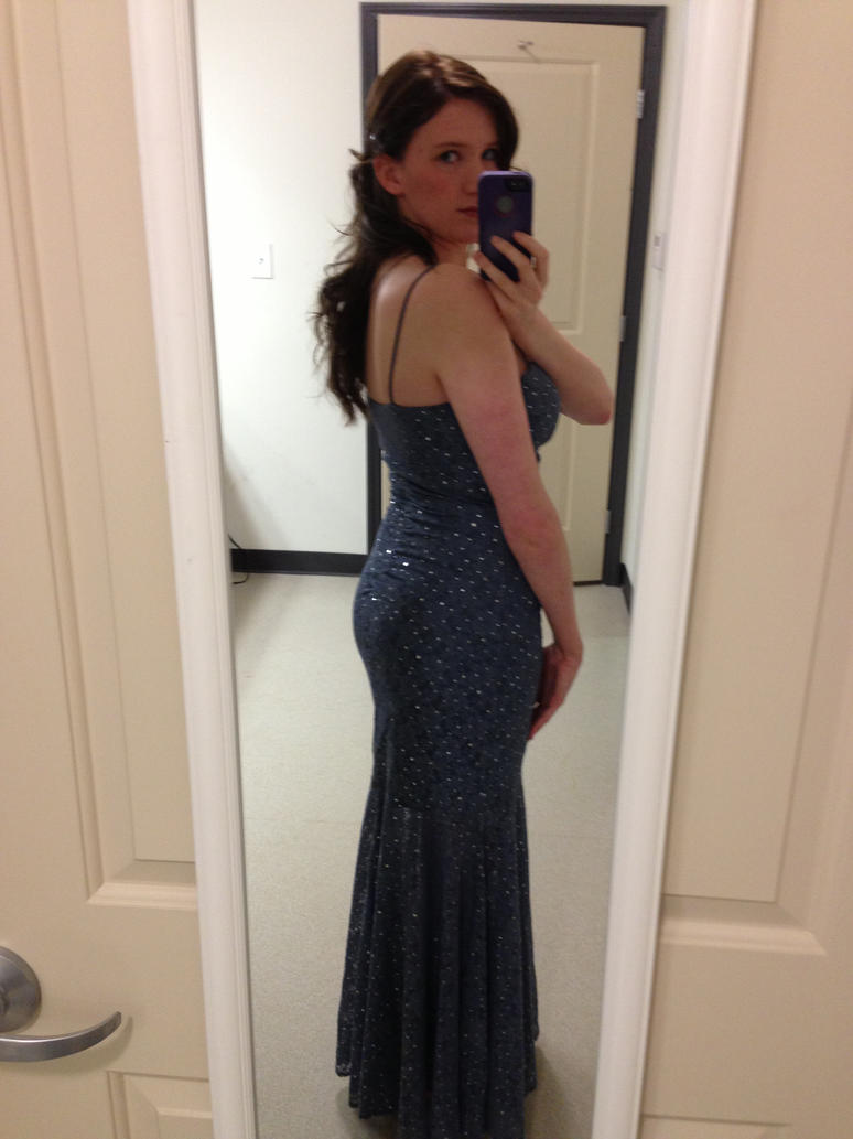 Military ball Dress again and New Hair color by SerinityAInferno on ...