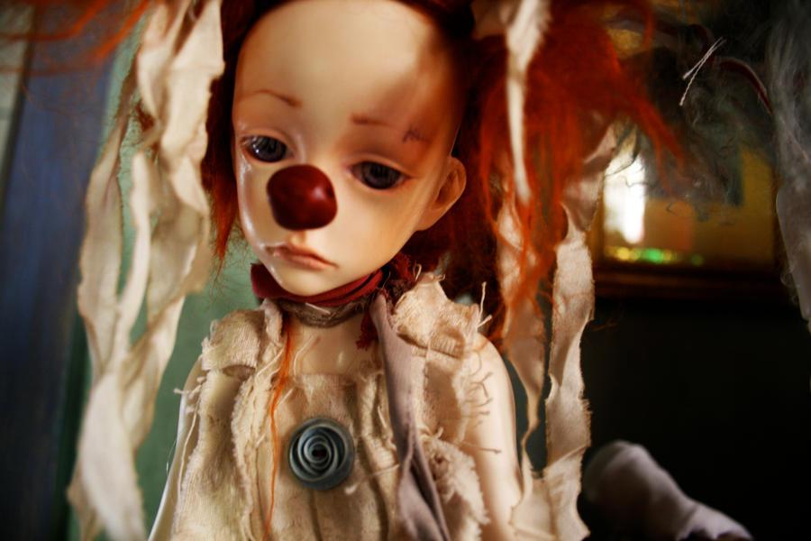 Sad Little Clown by araza13