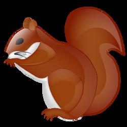 Squirrel crystal